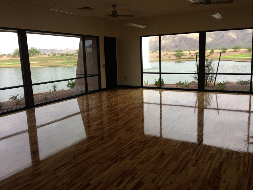 Gym Floor Refinishing Az Floors