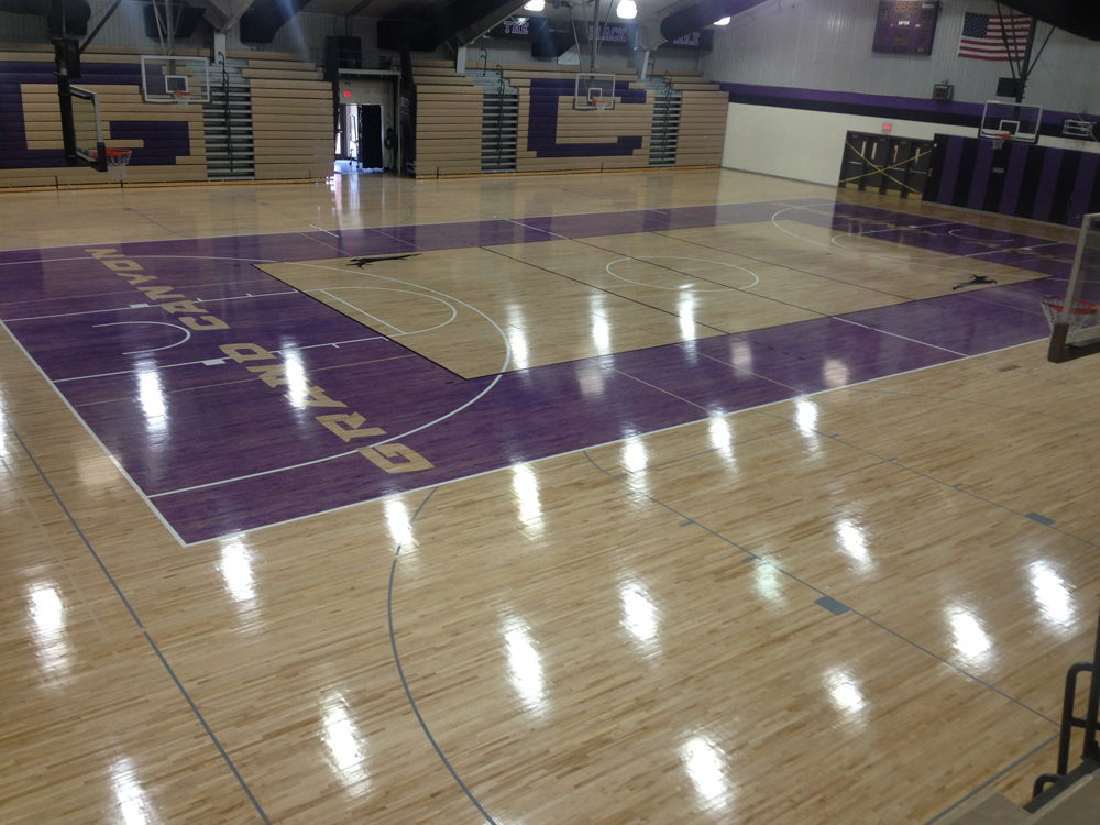Gym Floor Refinishing Az Gym Floors